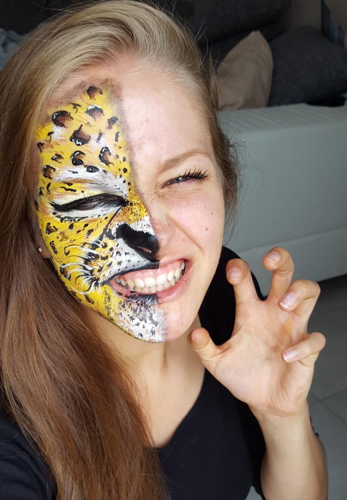 Kinderschminke leopard