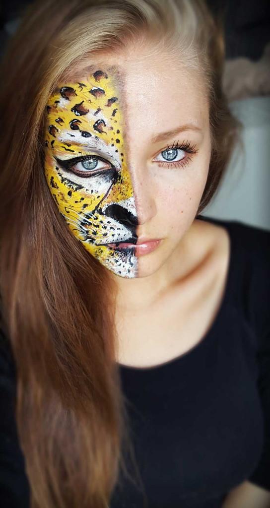 Kinderschminken leopard