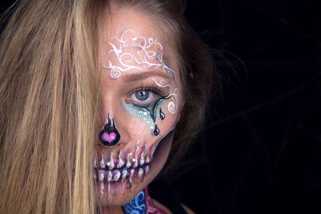 Kinderschminken_Halloween make up3