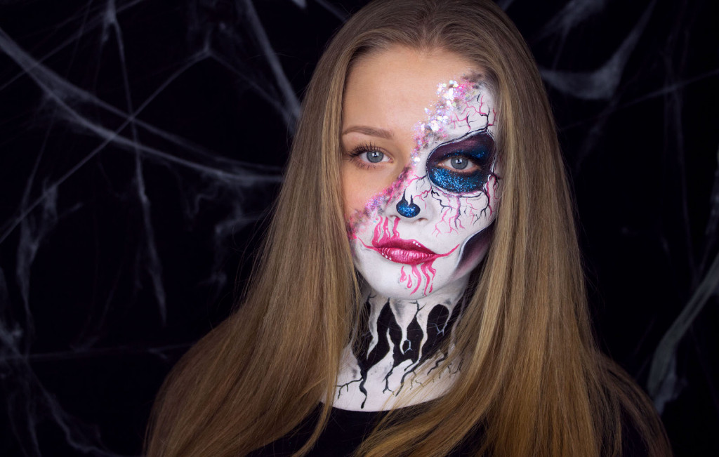 Kinderschminken_Halloween make up4