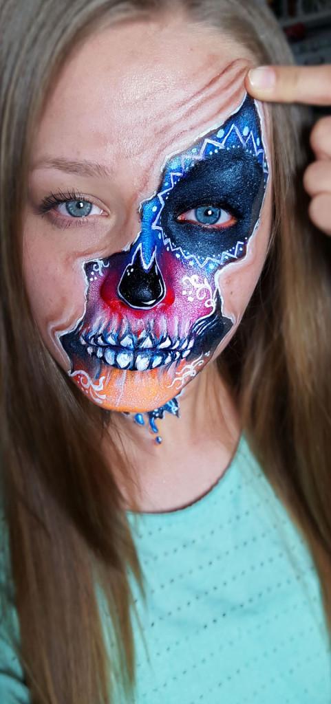 kinderschminken Halloween 4