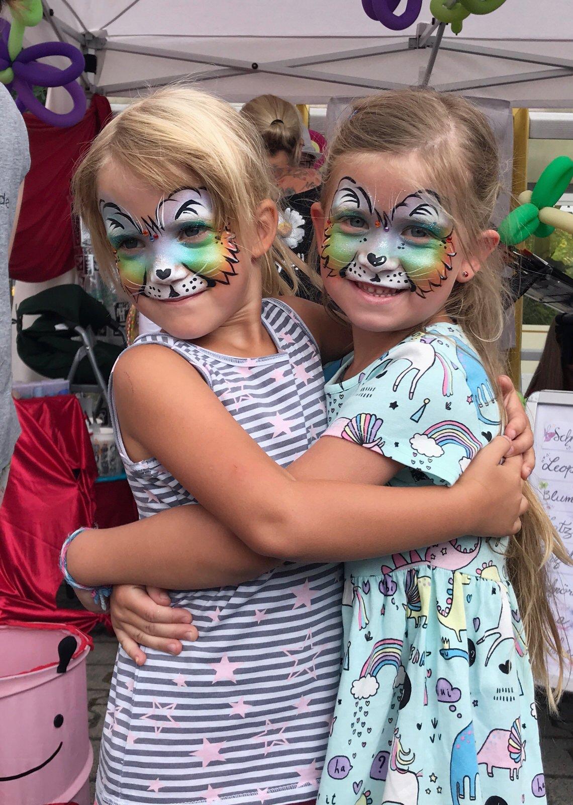 kinderschminken charity event