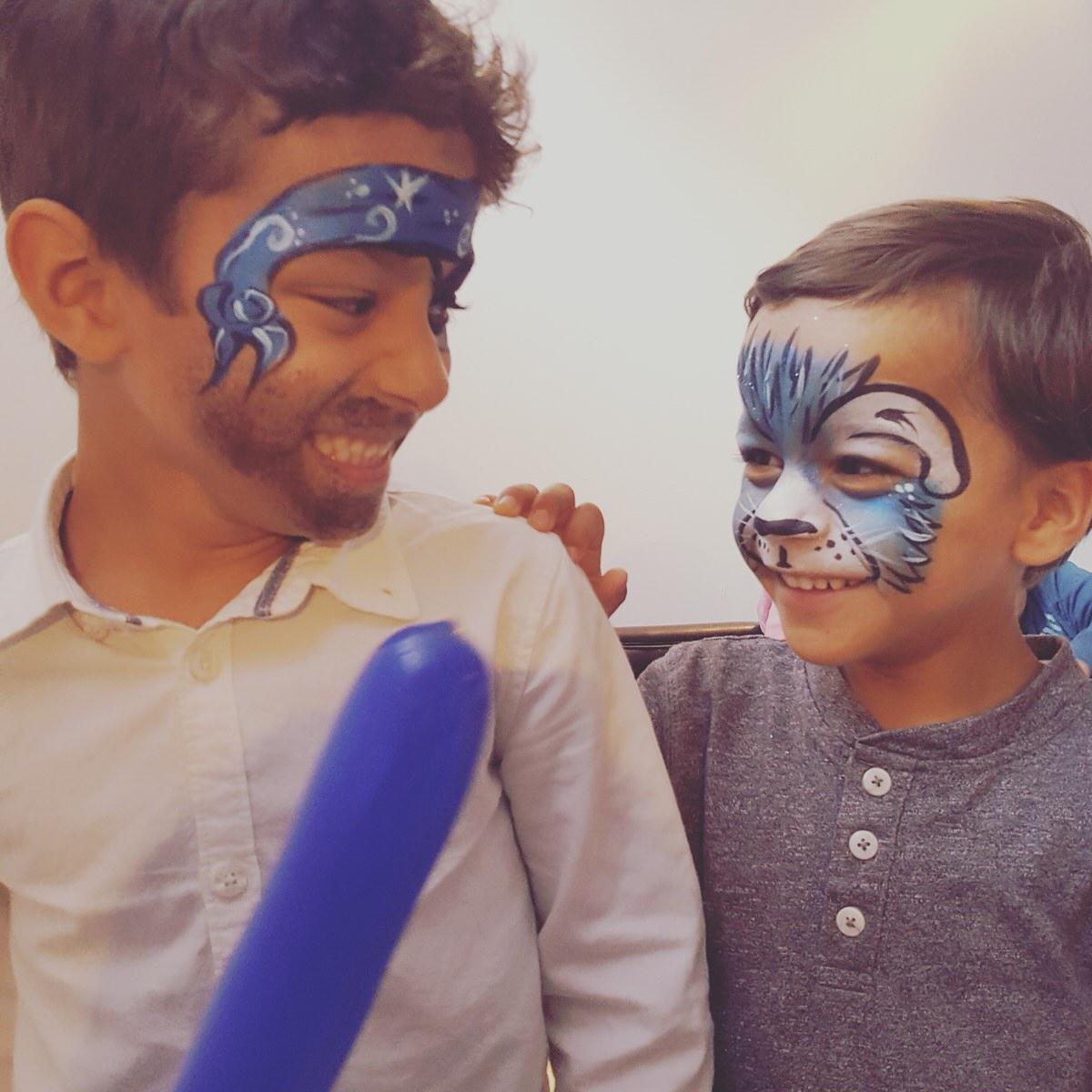 kinderschminken liebe