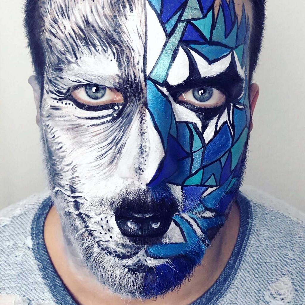 schminken-wolf