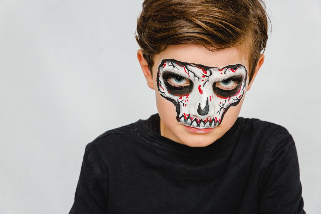 Halloween totenkopf