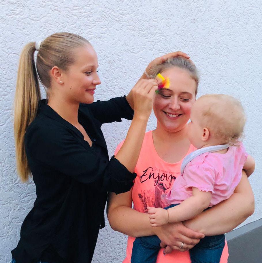 Kindergeburtstag Kinderschminken