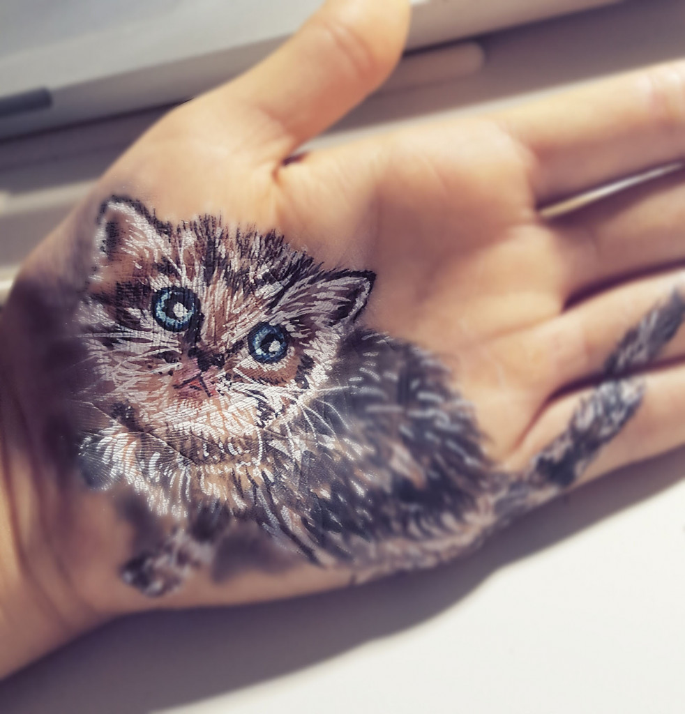 Kinderschminken Katze