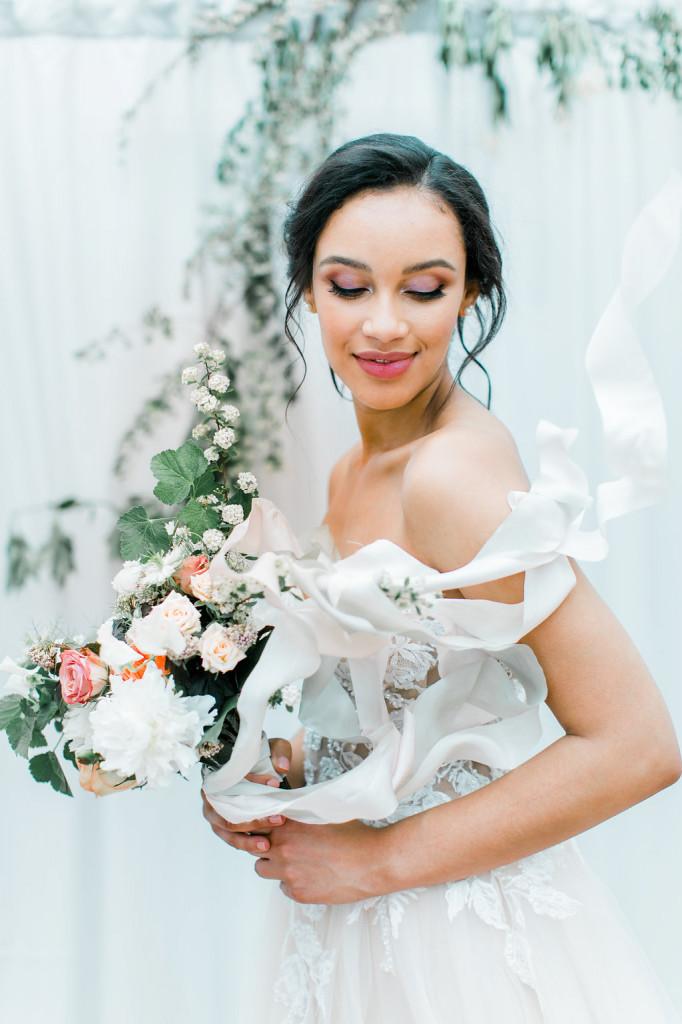Brautfrisur